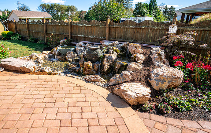 Keystone Reefscapes Outdoor Water Feature
